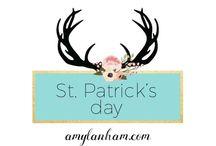 St. Patrick's Day / St. Patrick's Day ideas, inspiration, decor, decorations, diy, crafts, recipes, amylanham.com