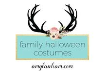 Family Halloween Costumes / Family Halloween Costumes, ideas, inspiration, diy, crafts, amylanham.com