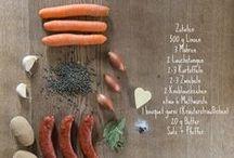 Typisch Lëtzebuergesch / Typical food made in Luxembourg