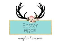 Easter Eggs / Easter Eggs, crafts, kids, easy, ideas, inspiration, diy amylanham.com