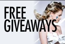 GIVEAWAYS / Along with the HEAPS of Hair Inspiration on Bangstyle, we have cool giveaways with goodies from the coolest brands in Hair and Nails! Check back to see what new Giveaways are happening.