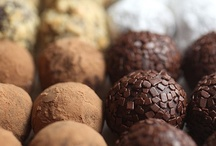 Truffle Love / There are four food groups: milk chocolate, dark chocolate, white chocolate, and chocolate truffles / by Micah Gibson