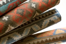 Southwest Inspired / Inspired by the Kravet Museum of New Mexico Collection, the Lee Jofa Malika Collection and by Georgia O'Keefe and her time at her New Mexico home, Ghost Ranch.  / by Athena Roth
