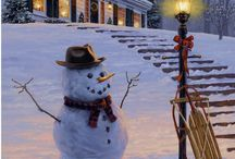 Mr. Snowman / by Doreen Guthrie