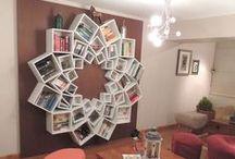 Betoverende boekenkasten / Magical bookcases / Betoverende boekenkasten om je favoriete boeken een leuk plaatsje in huis te geven! / by WPG Uitgevers België