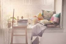 Cozy Reading Corners / De gezelligste plekjes om je in je favoriete boek te verdiepen! / by WPG Uitgevers België