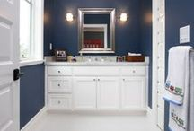 for Carl - bathrooms / by Katie Kildebeck Gold