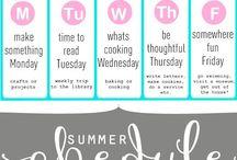 Sweet Summer Days / Summer  / by Lacey Darnell Gullett