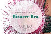 2018 Inspiration: Bizarre Bra / Hidden no longer.  Bring it out, make it shine, give it new meaning, show us its potential—so that we see something we thought we knew so well in completely different lights. A wonderful opportunity to bring creativity and wit to a mainstay of modern living.