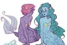 Fairies n Mermaid