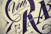 TypeDraw / Hand lettering and calligraphy