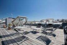 Panoramique  -  Paris Luxury Rentals / Exceptional Apartment with Roof Terrace near Bastille Plaza.