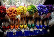 Rainbow Inspired Weddings