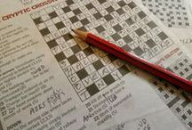 Puzzles / Crosswords, cryptics, word searches, mazes, and suchlike!