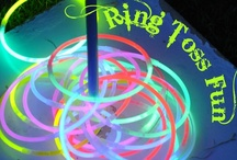 AAA party : dark is fun / kids' activities : for fun night party / movie night / camping  / by TheDudette