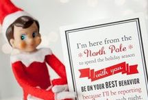 Holiday - Elf on the Shelf ideas / by Brigid Savage