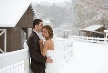 Christmas & Snow Inspired Wedding