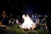 Bonfire & Firework Inspired Wedding