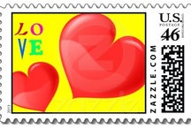 Cool US Postage Stamps / Valid US Postage stamps made by Zazzle shopkeepers. You can buy these stamps by clicking the pin to open up to the product page. You will not find these at the post office. They are exclusive to each designer. (feel free to invite people)