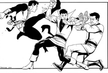 Karate Kid Mania / NOT Ralph Macchio but rather the comic book character vs just about everyone. / by Fernando Ospina