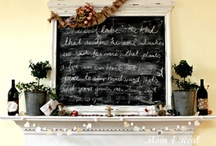 CM Mantel Decor Ideas / by Crafterminds