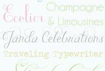 {Create} Creative Lettings + Fonts
