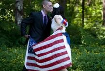 USA Inspired Wedding