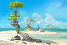 Animation Inspiration ~ Sand and the Sea / by Christian Palmer