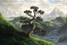 Animation Inspiration ~ Forests and Fields / by Christian Palmer