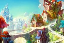 Animation Inspiration ~ Castles and Cabins / by Christian Palmer