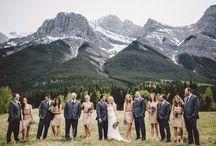Canadian Inspired Wedding