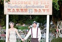 Carnival & Theme Park Inspired Wedding
