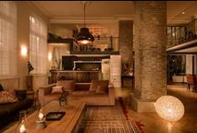 Panache  -  Paris Luxury Rentals / Huge and gorgeous Loft flooded with light, with three Bedrooms and a Winter Garden.