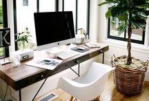.Home Office. / Arbeiten kann so schön sein ...