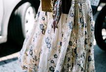 .Floral Fashion. / Blumig schön, florale Faszination