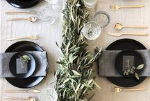 .Gedeckter Tisch. / Ein schöner gedeckter Tisch, deinem nächsten Fest, steht nichts mehr im Wege!