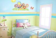 Dream Rooms: Kids' Bedroom / by Em Komiskey
