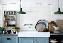 Kitchen interiors / by Becky Peabody