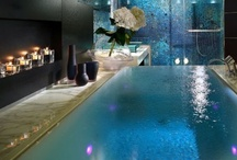 Fantasy Baths / Maybe you will never own a house in the alps, rainforest, tropical beach or some exotic land, but that doesn't mean you can't dream about it. Or maybe you'd like to bring that style into your home. Take a look at some of these fantasy baths to enhance your inspiration for creating your very own dream bathroom.