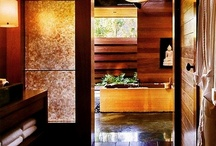 Celebrity Baths / You've seen their kitchens, now take a look at your favorite celebrities' baths and see where they wash off the grime of an easy day of relaxing or a hard day of working w/other glamorous celebrities.