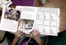 Interactive Notebooks / This board is all about interactive notebooks that give students the chance to demonstrate their reading abilities.  The pins included resources that highlight the interaction between readers, their classmates, and text.