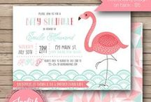 Baby Shower Invitations / Baby Shower invitations from my Etsy shop, Inglish Digi Design: http://www.etsy.com/shop/inglishdigidesign