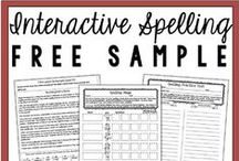 Spelling / Spelling Ideas, Tips, Free and Paid Resources for teachers and parents.