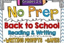 Back to School / Tons of great ideas, free resources, teacher tips, and products for back to school!