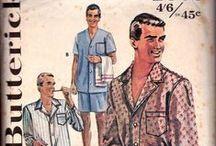 Vintage Retro Mens patterns / mens vintage sewing patterns