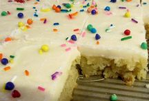 Cakes: Sheets / Sheet cakes like Texas sheet cakes