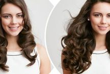 Hair Extensions / this board highlights all the hair services at SKYN Clinic: Hair Restoration, Hair Extensions, Hair Care
