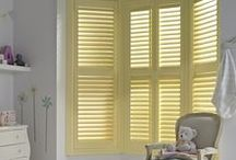 Colourful Shutters / Bring colour into your home with made-to-measure Window shutters. Thomas Sanderson's range of window and conservatory shutters are available in over 80 colours and our ColourMatch options allow you to personalise your interior look.