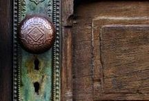 The Art in a Door / A door is so much more than simply a point of entry. It can say a lot of what just might be behind that door. Many doors will open up onto unmistakeable beauty just as the door itself displays