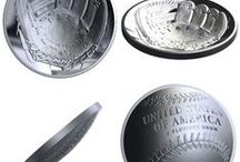 Creative Coins / Think you know coins?From glow in the dark to map shaped coins, here we share the most creative coins available.